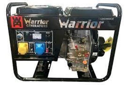 Imagens de Gerador Warrior Diesel 3600W 3 KVA