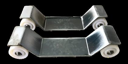 Imagens de Carro Metálico Zincado com 4 rodas